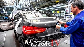 CAR FACTORY :  NEW 2017 BMW 7 SERIES PRODUCTION l Plant Dingolfing