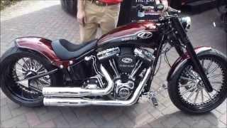 getlinkyoutube.com-Harley-Davidson Softail Breakout ''Dr. Jekill & Mr. Hyde'' SOUND (exhaust flap) * see also Playlist