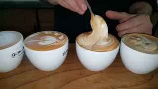 getlinkyoutube.com-How to make the perfect Cappuccino at home / Come fare un cappuccino a casa