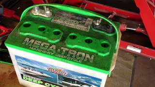 getlinkyoutube.com-Lead Acid Battery Desulfation Using Epsom Salt --Add Solution to Dead Interstate battery Part 2 of 6