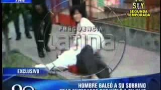 getlinkyoutube.com-Hombre dispara a su sobrino por violador (imágenes impactantes)