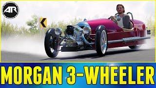 getlinkyoutube.com-Forza Horizon 3 : ULTIMATE 3 WHEELER!!! (Morgan 3-Wheeler Build)