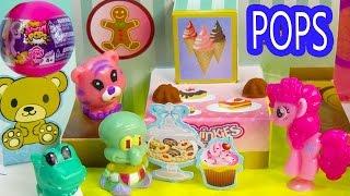 getlinkyoutube.com-MLP Squishy POPS Blind Bag Balls Squinkies POP Up Playsets Bakery Beach Pinkie Pie My Little Pony