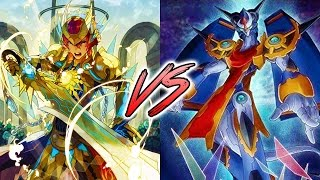 Cardfight!! Vanguard G:  Match: Gear Chronicle (Chronojet) VS Gold Paladin (Gurguit)