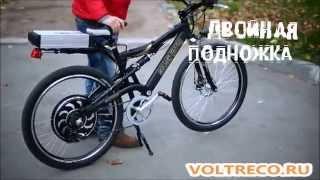 getlinkyoutube.com-Электровелосипед велогибрид GM 1000w мощный байк