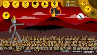 getlinkyoutube.com-Stick War Legacy | Final Boss | 50 Elites ~ 600 Troops! + Extreme Lag! (INSANE)