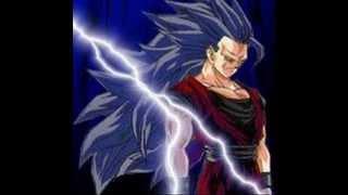 getlinkyoutube.com-Trasformazioni Super sayan dal livello 1 al 10 compreso il 50!!!