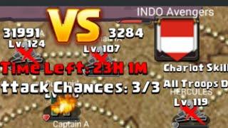 getlinkyoutube.com-Clash of Lords 2- Guild Clash vs. INDO Avengers