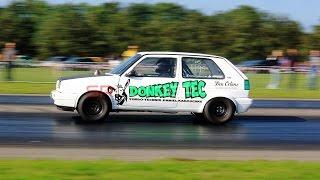 getlinkyoutube.com-9sec DONKEY TEC Golf vr6 Turbo @ DHRA - EDRS drachten