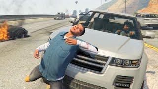 getlinkyoutube.com-GTA V Unbelievable Crashes/Falls - Episode 103