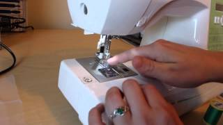 getlinkyoutube.com-How to embroider on a home sewing machine