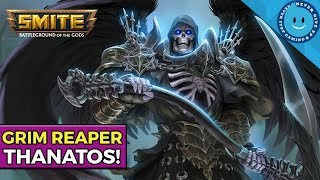 SMITE: THE HAND OF DEATH! Burst Damage Thanatos Build and Gameplay!