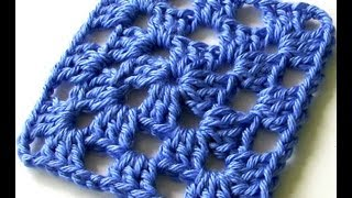 getlinkyoutube.com-Classic Granny Square in One Color