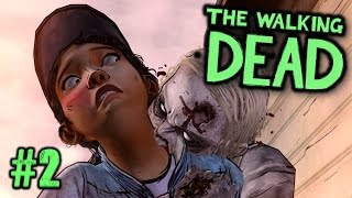 getlinkyoutube.com-SHOULD WE SAVE HER? - The Walking Dead: Season 2 Episode 4 - Part 2
