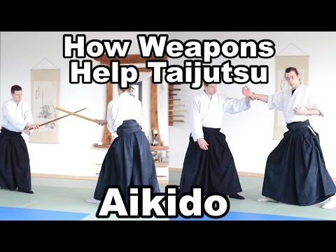Aikido How To: Connect Weapons with Open Handed Techniques