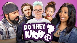 getlinkyoutube.com-DO PARENTS KNOW YOUTUBE STARS? (REACT: Do They Know It?)