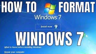 getlinkyoutube.com-Windows 7 Formatting and Clean Installation