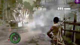 getlinkyoutube.com-Resident Evil 5 (RE5) - hack - Super Weapons