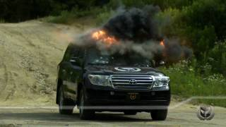 getlinkyoutube.com-Ares Security Vehicles VR7 Armoured Land Cruiser