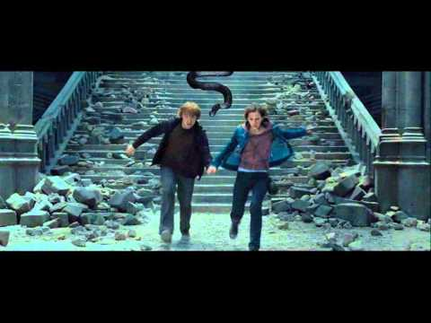 Harry Potter 7.2 Deleted Scene Scene 8 - Marble Staircase - Ron & Hermione
