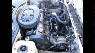 getlinkyoutube.com-Renault R11 TXE 1986 engine overhaul, acceleration 0-140km/h