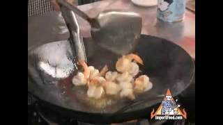 getlinkyoutube.com-Thai Street Vendor Garlic Shrimp