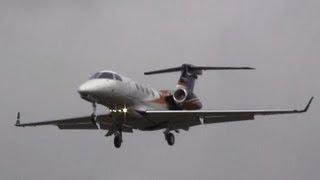 Embraer Phenom 300 Landing