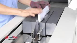 getlinkyoutube.com-【Bindtec】D60C-A4 The Operation of Automatic Glue Book Binding Machine
