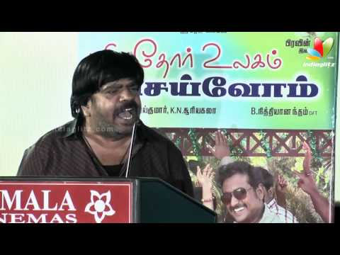 T. Rajender gives a counter to Chinni Jayanth for his funny speech | Puthiyathor Ulagam Seivom