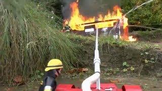 getlinkyoutube.com-BEST OF RC l FIRE TRUCKS l  RC FIREFIGHTERS l FIRE LADDER l BIG FIRE l