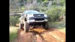 "getlinkyoutube.com-Crazy Ford F-150 Offroad Trail ""GeTStuK"""