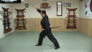 getlinkyoutube.com-Katana 3 - Nuki -Sword Draws - Free Ninjutsu Lesson Online