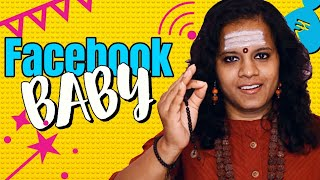 getlinkyoutube.com-Facebook Baby ( Lady Baba ) | Telugu Comedy Short Film ( English Sub ) | Naresh Babu | wow Pictures