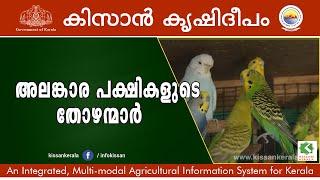 Program on Ornamental Birds rearing by Jabir and Faisal of Kasargod-554