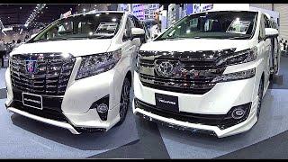 getlinkyoutube.com-2016, 2017 Toyota Alphard VS Toyota Vellfire - luxury MPV (minivan)