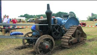 getlinkyoutube.com-Dreschen mit dem Lanz Bulldog - Tractor start, run and threshing