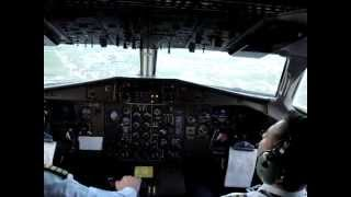 getlinkyoutube.com-ATR42-300 cockpit during approach at Tirana (LATI)