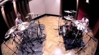 getlinkyoutube.com-The Amity Affliction - Bondi St. Blues - Dual Drum Cover
