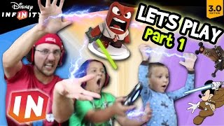 getlinkyoutube.com-Lets Play Disney Infinity 3.0 - Pt. 1: USE THE FORCE & NAE NAE (Star Wars & Inside Out FGTEEV Intro)