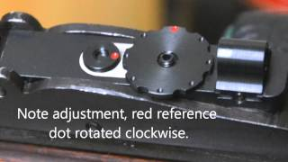getlinkyoutube.com-Mojo Peep Sight Range Test