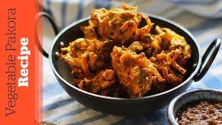 getlinkyoutube.com-Vegetable Pakora Recipe