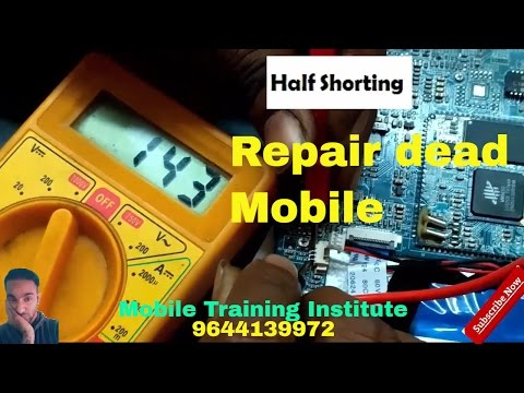 Learn How to Repair Dead Mobile l Mobile Repairing Tips |