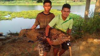 getlinkyoutube.com-แม่น้ำชี ยโสธรปลาใหญ่35กิโล เสียงรอกปิ๊ดๆ ปลาคบหรือค้าว หรือคูน