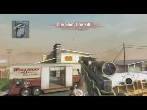 INSANE BLACK OPS SILENT SHOT - (G-Shot TomaHawk Double Tap Y Headshot Through Wall)