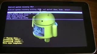 getlinkyoutube.com-tablette android: formatage et restauration d'usine pour réparation et déblocage (INFORMATIQUE +2)
