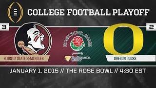 Rose Bowl 2015- Oregon Ducks Highlights