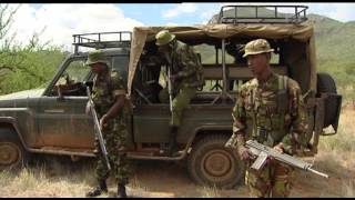 Kenyan rangers on the hunt for thieves 22.11.12