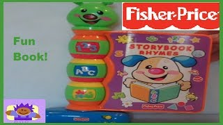2002 Fisher Price Storybook Rhymes Musical Toy