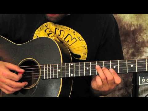 Acoustic Blues guitar lesson spice up that bluesy playing -lHfiQ3AsB3w