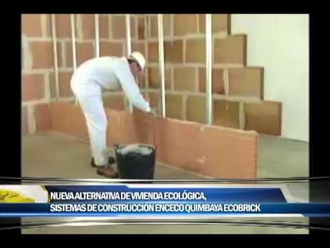 Nueva alternativa de vivienda económica en la ciudad, Sistemas de Construcción Enceco